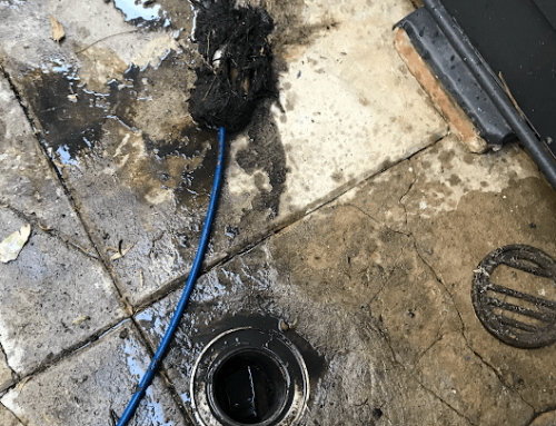 Drain is now all clear